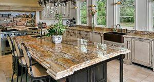 Granite.Kitchen.-AntiqueandDark-Brown.Cabinets