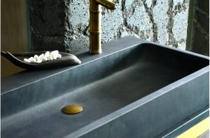 1000mm-double-trough-bathroom-basin-black-basalt-stone-looan-dark